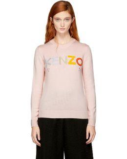 Pink Logo Sweater