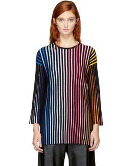Multicolor Rainbow Sweater