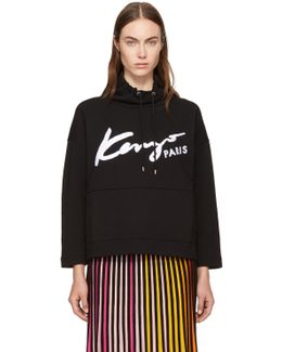 Black Signature Logo Sweatshirt