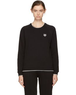 Black Tiger Crest Sweatshirt