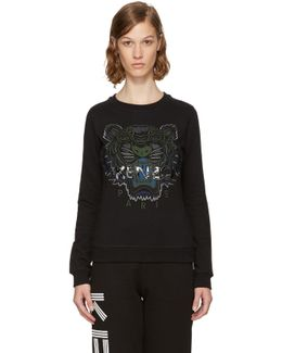 Black & Green Tiger Sweatshirt