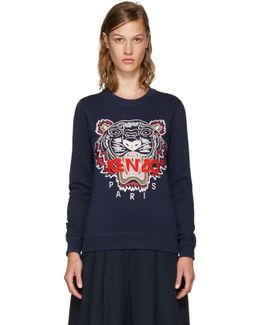 Navy Limited Edition Tiger Sweatshirt