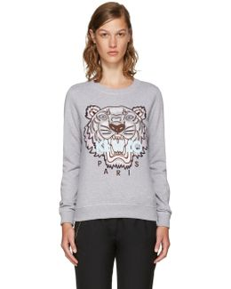 Grey Limited Edition Tiger Sweatshirt