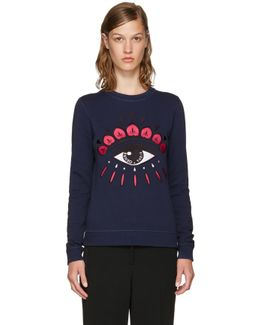 Navy Limited Edition Eye Sweatshirt