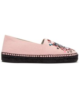 Pink Limited Edition 'tiger X I Love You' Espadrilles
