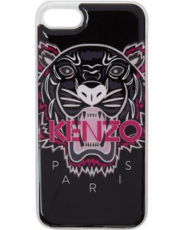 Black 3d Tiger Iphone 7 Case