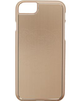 Gold Tiger Iphone 7 Case