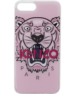 Pink 3d Tiger Iphone 7+ Case