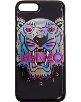 Black Limited Edition Northern Lights Tiger Iphone 7 Plus Case