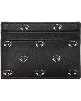 Black Multi Eye Card Holder