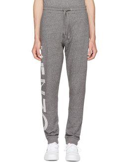 Grey Logo Jogpant Lounge Pants