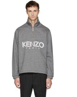 Grey Logo Sweater