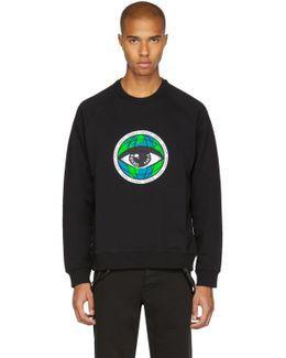 Black World Eye Sweatshirt