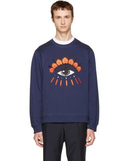 Navy Eye Sweatshirt