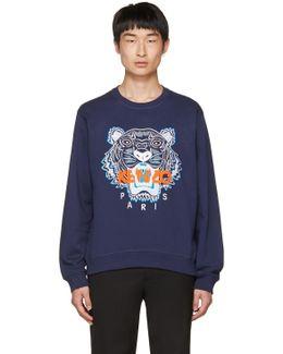 Navy Tiger Sweatshirt