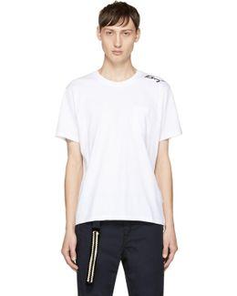 White Small Signature Logo T-shirt