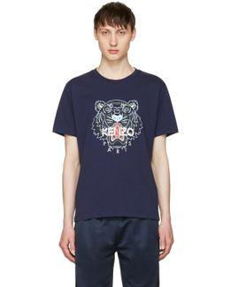 Navy Tiger T-shirt