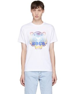 White Limited Edition Tiger T-shirt