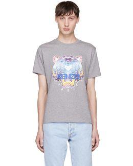 Grey Limited Edition Tiger T-shirt