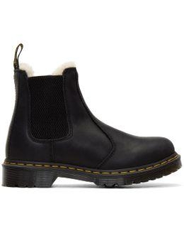 Black Leonore Boots