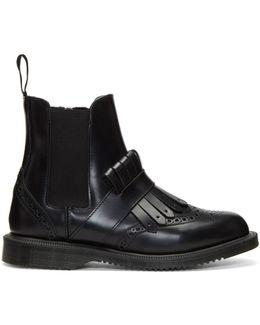 Black Tina Chelsea Boots