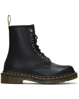 Black Vegan 1460 Boots