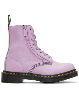 Purple Pascal Boots