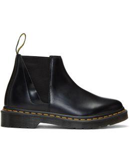 Black Bianca Chelsea Boots