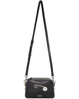 Black Safety Pin Bag