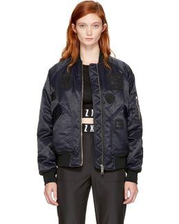 Black Zayn Edition Bomber Jacket
