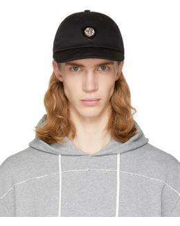 Black Lion Head Cap