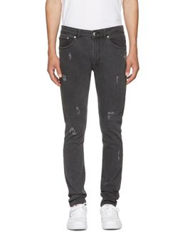 Grey Zayn Edition Distressed Jeans