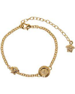 Gold Medusa Anklet