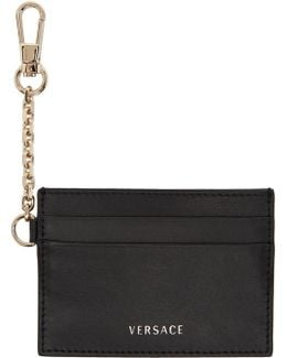 Black Chain Hook Card Holder