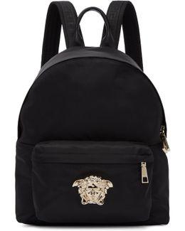 Black & Gold Medium Palazzo Backpack