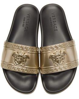 Gold Medusa Slides