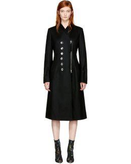 Black Catherine Coat