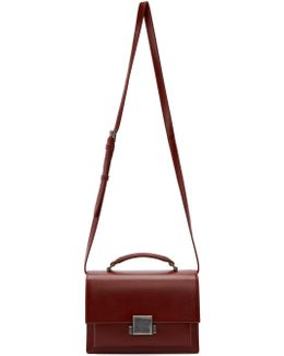 Burgundy Bellechasse Schoolbag Satchel