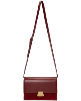 Burgundy Medium Bellechasse Bag