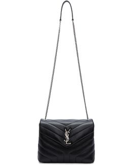 Black Small Loulou Chain Bag