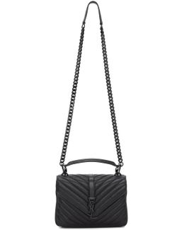 Black Medium Collège Bag