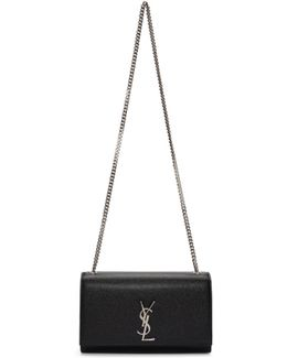 Black Medium Kate Satchel