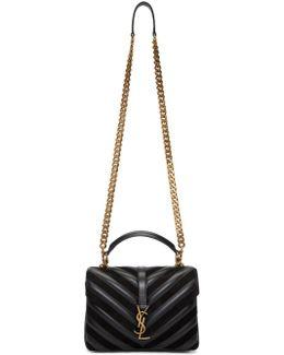 Black Medium College Bag