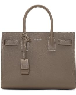 Taupe Baby Sac De Jour Tote Bag