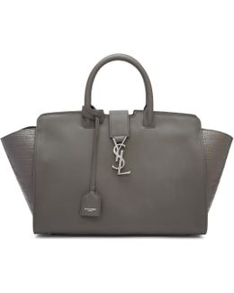 Grey Small Downtown Cabas Tote