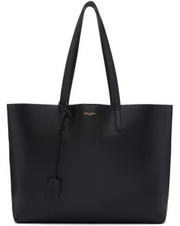 Black East/west Shopping Tote