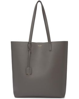 Taupe Medium North/south Shopping Tote
