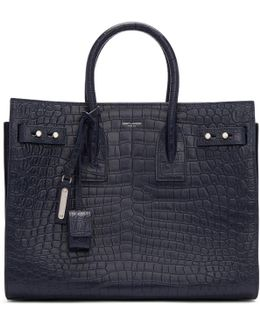 Navy Small Sac De Jour Tote