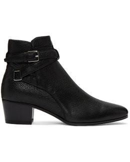 Black Blake Jodhpur Boots