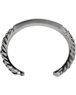 Silver Double Bracelet Set